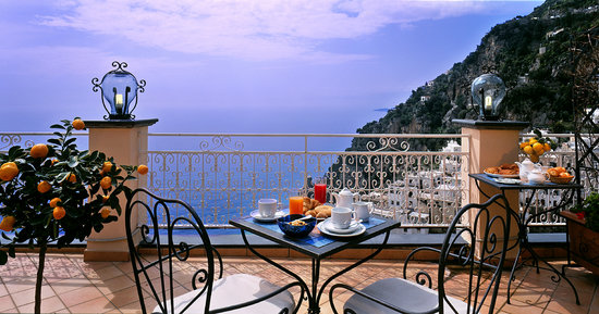 Positano Art Hotel Pasitea: Wonderful seaview