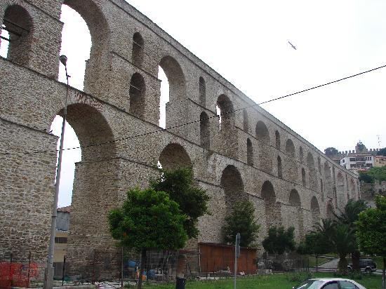 Keramoti, Greece: Viaduct - Kavala