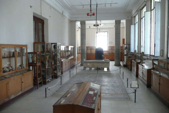Ismailia, Egypte: The whole museum