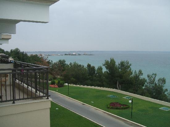 Ikos Oceania: View from Balcony Block 4