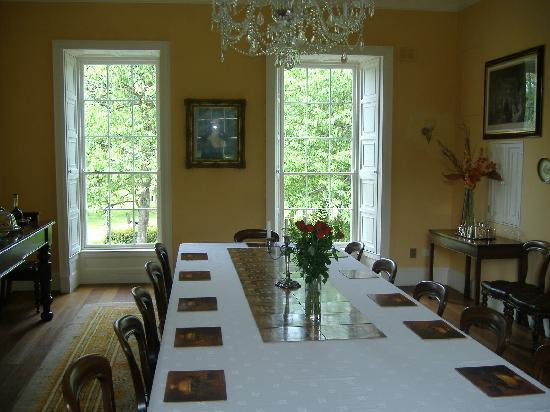 Castlecoote House: The Dining Room