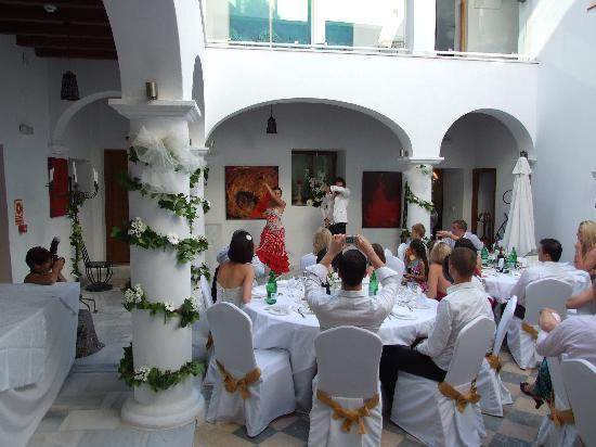 Hotel Palacio Blanco: Flamenco at the wedding 2