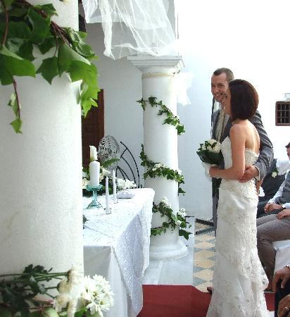 Hotel Palacio Blanco: The ceremony 2