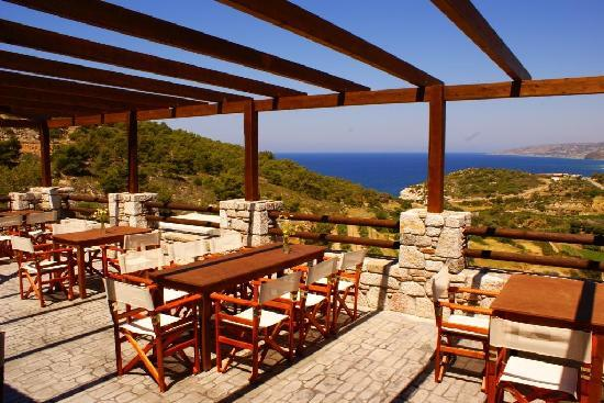 Kritinia, Grecia: View from the breakfast terrace