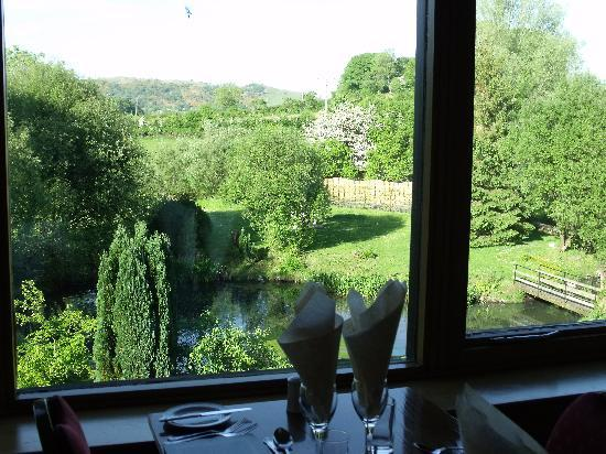 Damson Dene Hotel: View from Heron's View restaurant