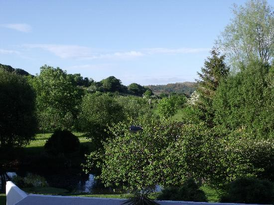 Damson Dene Hotel: View from terrace