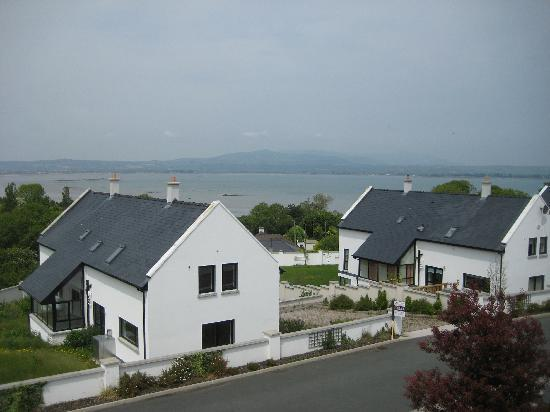 Dun Ard: view from bedroom window