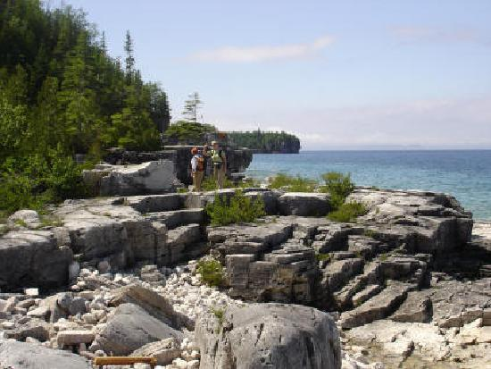 Haven on the Bay B&B : Hiking on the Bruce Trail