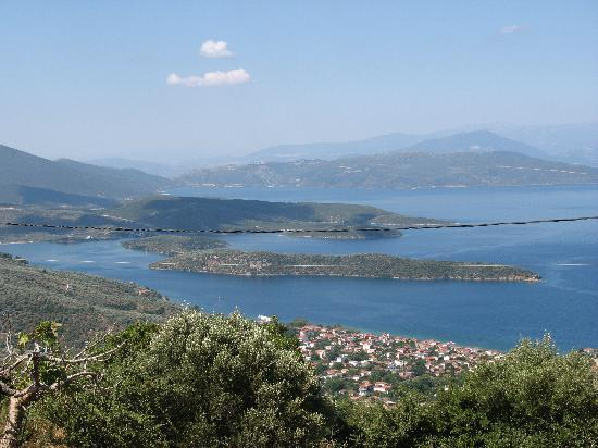 Paou, Hellas: view