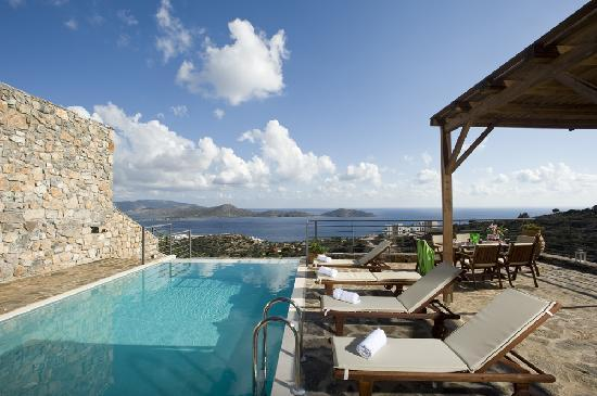 Elounda Solfez Villas: Relaxing views over Mirabello Bay in Elounda