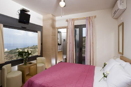 Elounda Solfez Villas: Master Bedroom on 3rd level