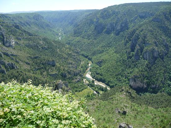 Florac, Fransa: gorges da point sublime