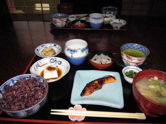 Salon Haraguchi Tenseian : Traditional japanese breakfast