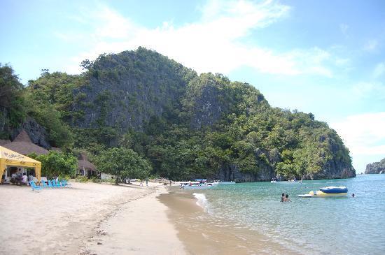 Caramoan, Philippines: Hunongan beach