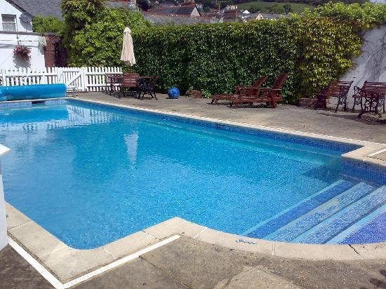 Best Western Fowey Valley : The Swimming Pool