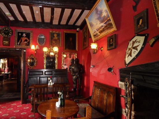 Churston Court Hotel: the bar