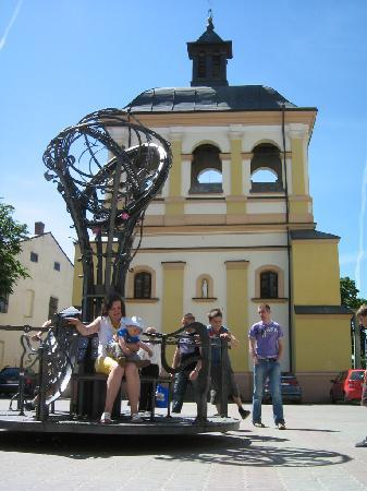 One of presents to Ivano-Frankivsk from International Blacksmiths' Festival 2010