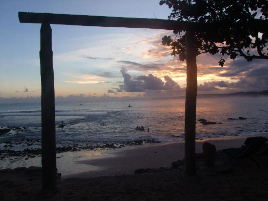 Nihi Sumba: view from the boat house bar