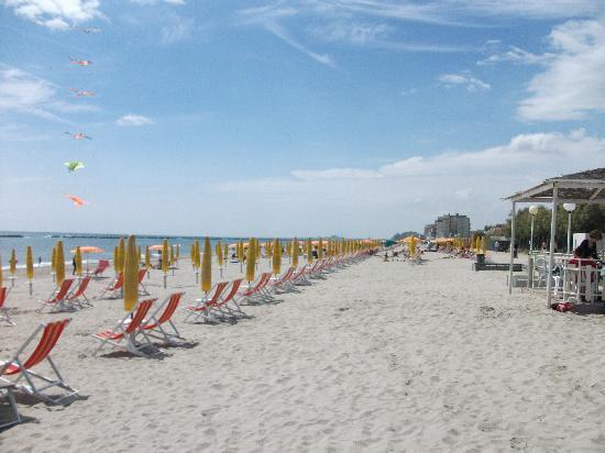Lido di Pomposa, Italia: beach shot