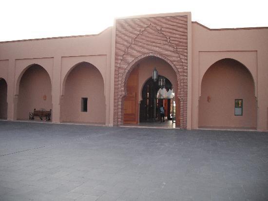 Club Dar Atlas: entrée de l'hôtel