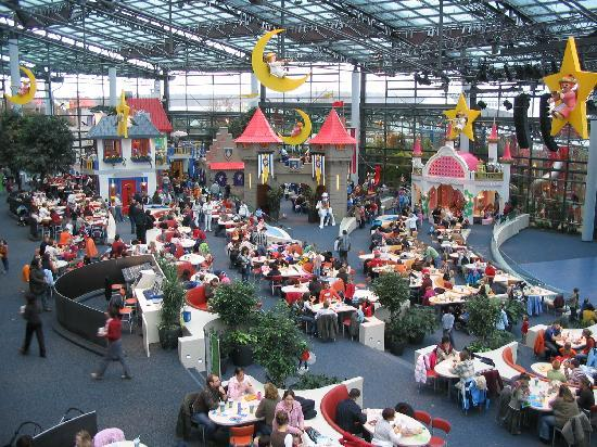 Zirndorf, Germany: Indoor-Bereich des Playmobil Funparks