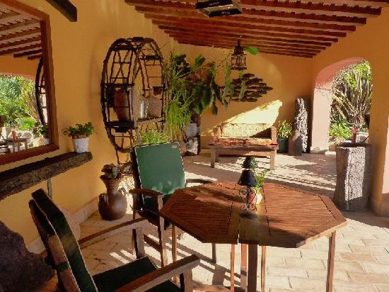 Salsalito: Santa Fe terrace
