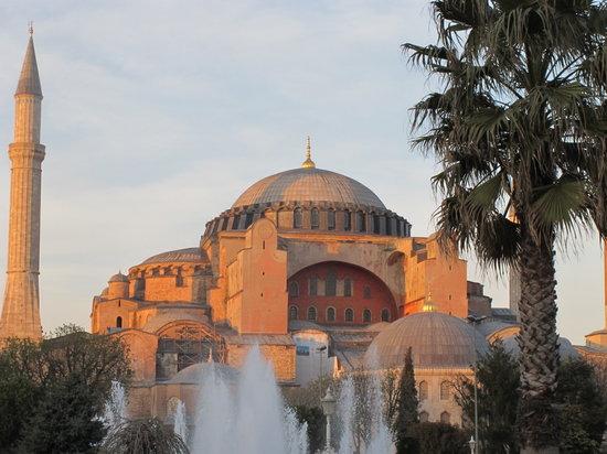 Istanbul, Turkiet: la basilique de Sainte Sophie
