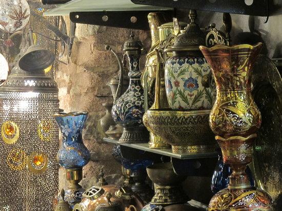 Istanbul, Turki: les merveilles du grand bazar