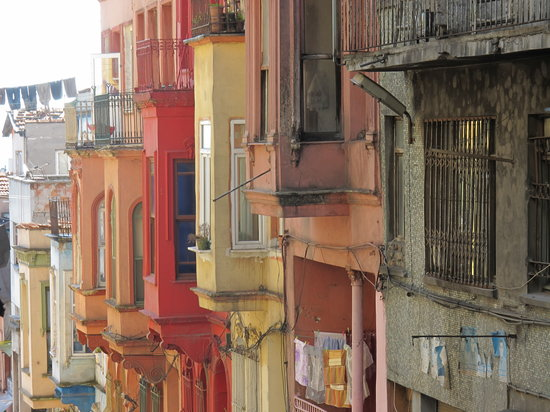 Istanbul, Turki: le quartier de kumkapi