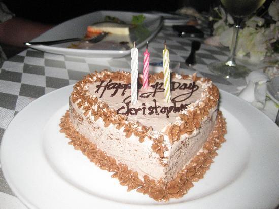 Birthday Cake For Hubby Picture Of Bandos Maldives Bandos