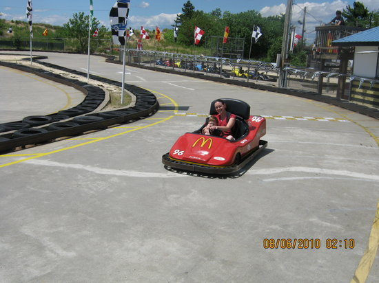 Keansburg, Nueva Jersey: Go Carts were really fun