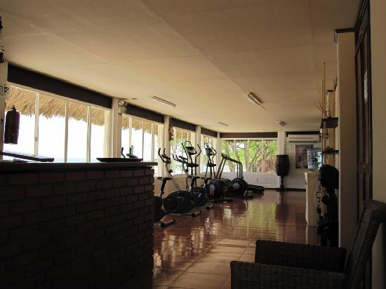 Decameron Isla Palma: Gym and spa.