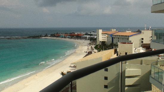 Lahia Condominiums: View from balcony toward Club Med