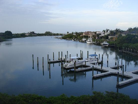 Resort at Longboat Key Club: The view from our balcony in buildings 6 &  7