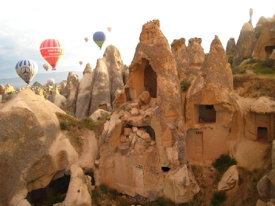 Aydinli Cave House Hotel: View from the Balloon ride