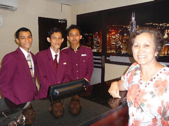 Prasada Mansion : Friendly staff