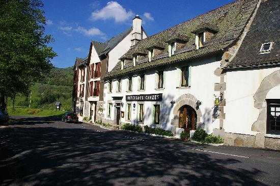 Hotel des Chazes : Côté montagne