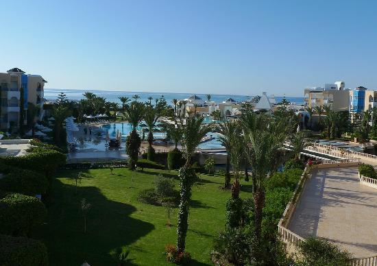 Hasdrubal Thalassa & Spa : View of Swimming Pool and see From our room