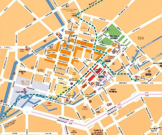 MAP - Picture of Manchester, Greater Manchester - TripAdvisor