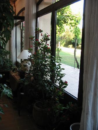 L'Oustaou de Verane: veranda
