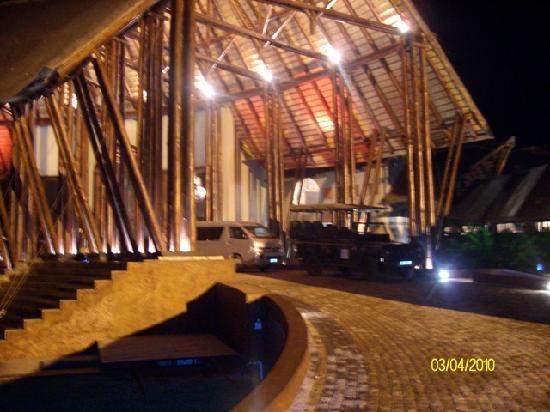 Hans Merensky Hotel & Estate: Entrance night