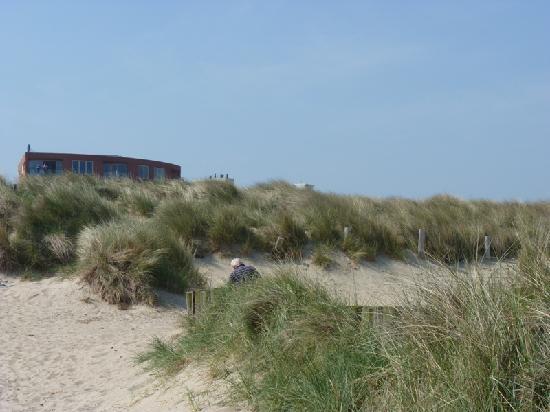 Badhotel De Wielingen: L'hôtel et les dunes