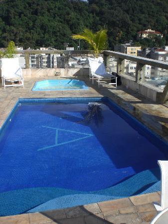 pool auf dem dach foto di augusto 39 s copacabana hotel. Black Bedroom Furniture Sets. Home Design Ideas