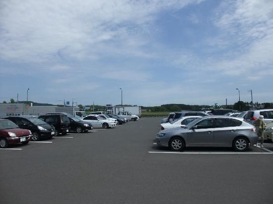 Michi-no-Eki Maoinooka Park: 駐車場