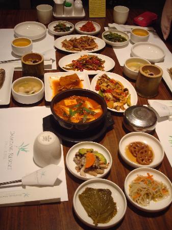 Damyang Resort Spa & Hotel : bamboo rice dinner