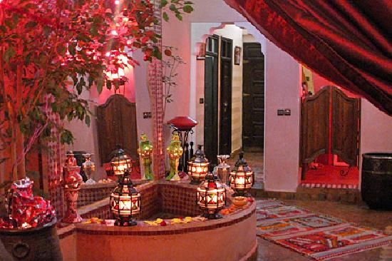 Riad Bahia: patio