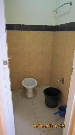 Amana Waterpark: This is the bathroom