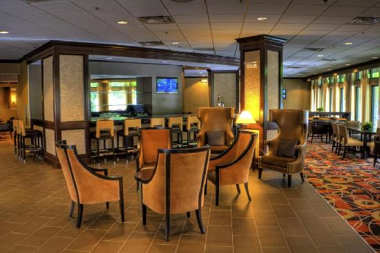 DoubleTree by Hilton Hotel Baltimore - BWI Airport: Eden's Landing Lounge