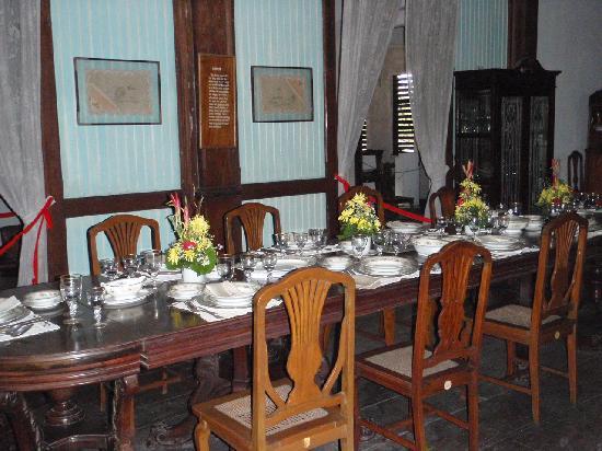 Silay City, Filipinas: dining room