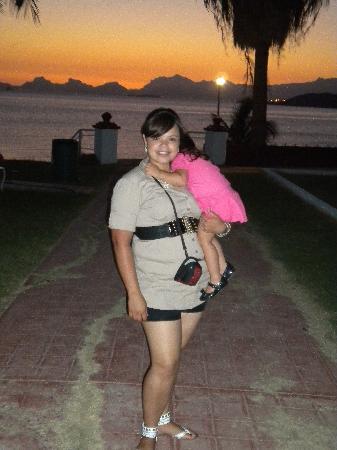 Hotel Playa de Cortes: ATARDECER